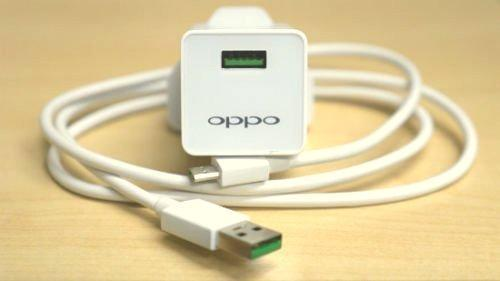 OPPO F3 2Amp Vooc Charger with Cable-chargingcable.in