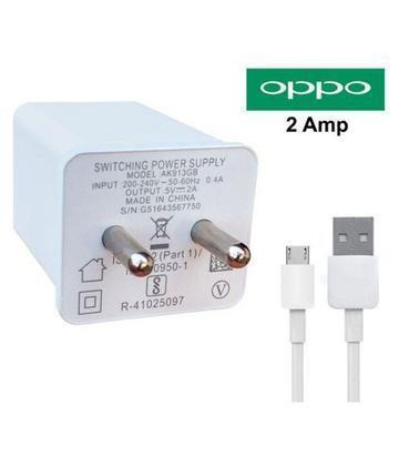 OPPO F1 Plus 2Amp Vooc Charger with Cable-chargingcable.in