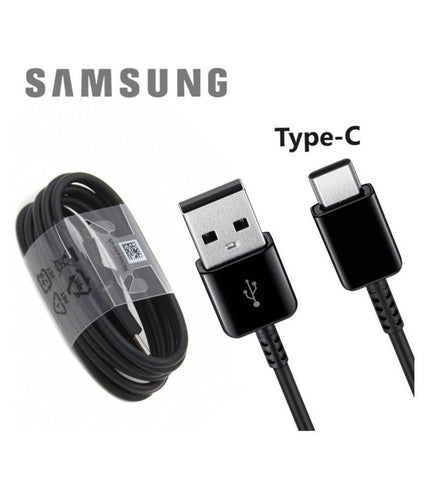 Type C Charge & Sync Cable for Samsung Devices- 1 M Black-chargingcable.in