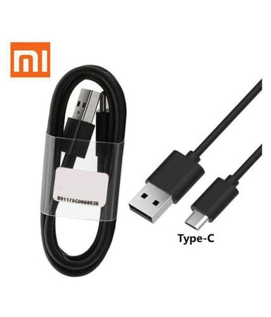 XIAOMI Redmi Note 7 Type C Mobile Charger Qualcomm 3 Amp With 1.2 Mt Cable-chargingcable.in