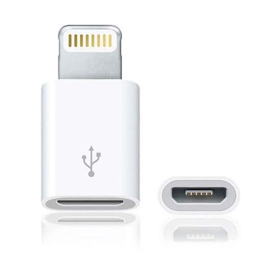 Micro USB to iPhone 8Pin Lightning Adaptor (Pack of 2)