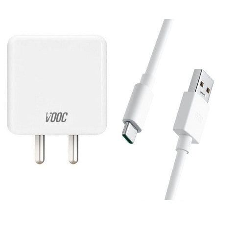 Image of Oppo Find X 4 Amp Type-C Vooc Charger With C-Type Cable-chargingcable.in