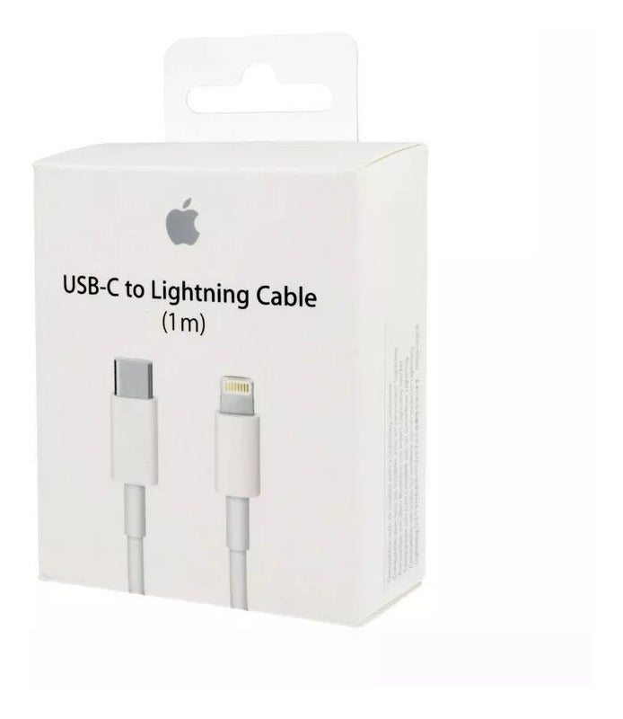Apple Compatible For iPhone 11 Pro Max USB-C to Lightning Thunderbolt 3 Charge and Data Sync Cable 1M White-chargingcable.in
