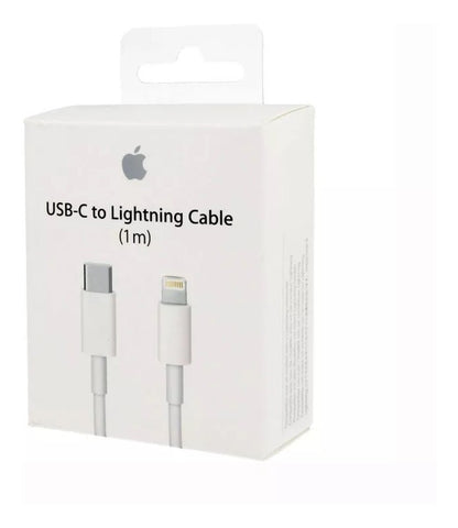 Apple Compatible For iPhone 11 Pro USB-C to Lightning Thunderbolt 3 Charge and Data Sync Cable 1M White-chargingcable.in