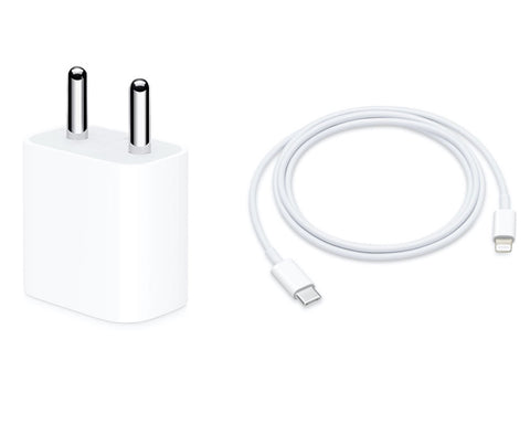 Apple Compatible For iPhone 11 Pro Max 18W USB‑C Power Adapter Mobile Charger With USB-C to Lightning Charge Cable