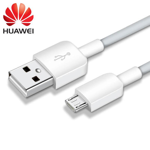Image of Huawei Honor Y511 Original Charging Cable Data Sync Cord-White-chargingcable.in