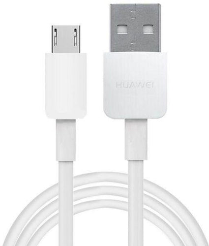 Huawei Honor 8 Lite Original Fast Charging Cable Data Sync Cord-White-chargingcable.in