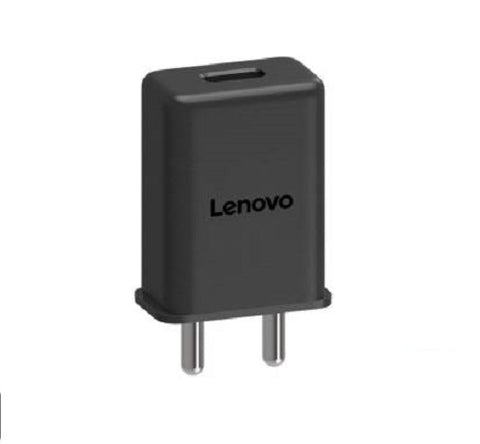 Image of Lenovo K6 Power 3 Amp Mobile Charger with 1.2 Mt Fast Charging Cable Black-chargingcable.in