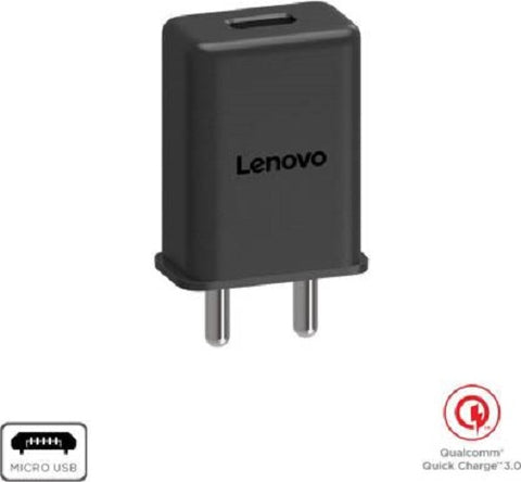 Image of Lenovo A6000 Fast Mobile Charger 3Amp With Cable-chargingcable.in