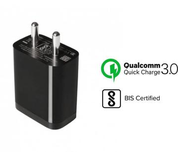 XIAOMI Redmi 7S Type C Mobile Charger Qualcomm 3 Amp With 1 Mt Type-c Data Cable-chargingcable.in