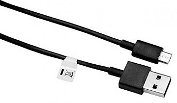 Image of Data Cable Charge & Sync Cable for Redmi Devices- 1M-Black-chargingcable.in