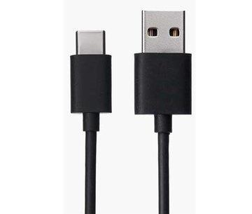 XIAOMI Redmi Mi A1 Type C Charge And Sync Cable-1.2 M-Black-chargingcable.in