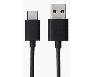 Xiaomi Redmi Mi K20 Pro Type C Charge And Sync Cable-1.2 M-Black-chargingcable.in