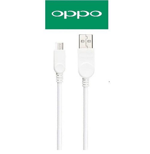Data Cable Charge And Sync Cable for Oppo Devices-1M-White