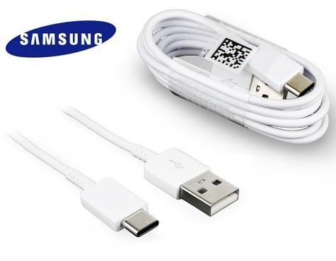 Samsung Galaxy A50 Type C Fast Charge And Data Sync Cable-1M-White-chargingcable.in