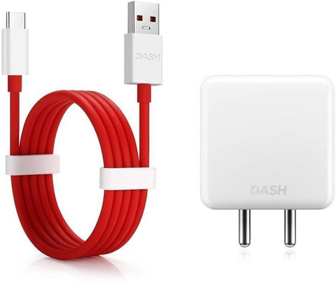 Oneplus 5T Dash 4 Amp Mobile Charger With Dash Type C Cable Red-chargingcable.in