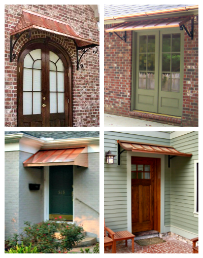 Beautiful Door Awnings