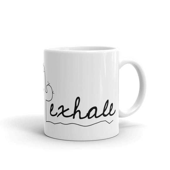 Inhale Exhale Mug
