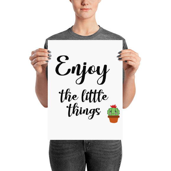 Little Things Kawaii Poster