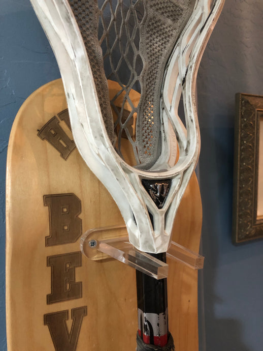 Lacrosse Stick Mount