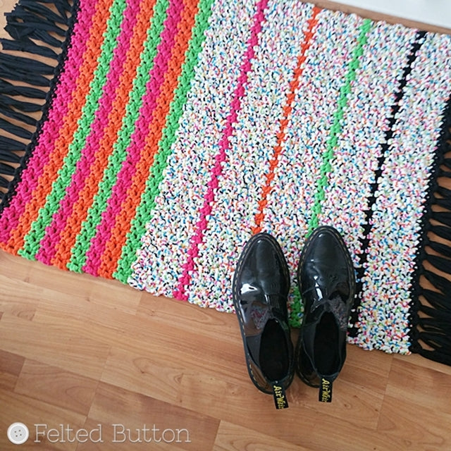 All Sorts Rug Free Crochet Pattern