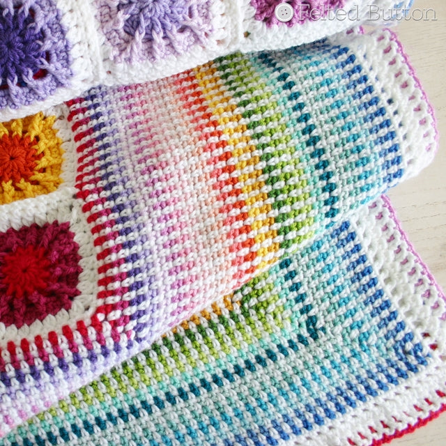 Crochet Pattern: Around the Corner Blanket