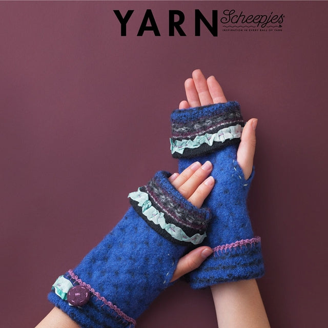 YARN 8 Book-a-Zine: How to Make Felted Mitts