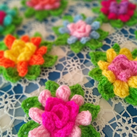 Blossom (in-the-round) | Crochet Pattern | Apple Blossom Dreams