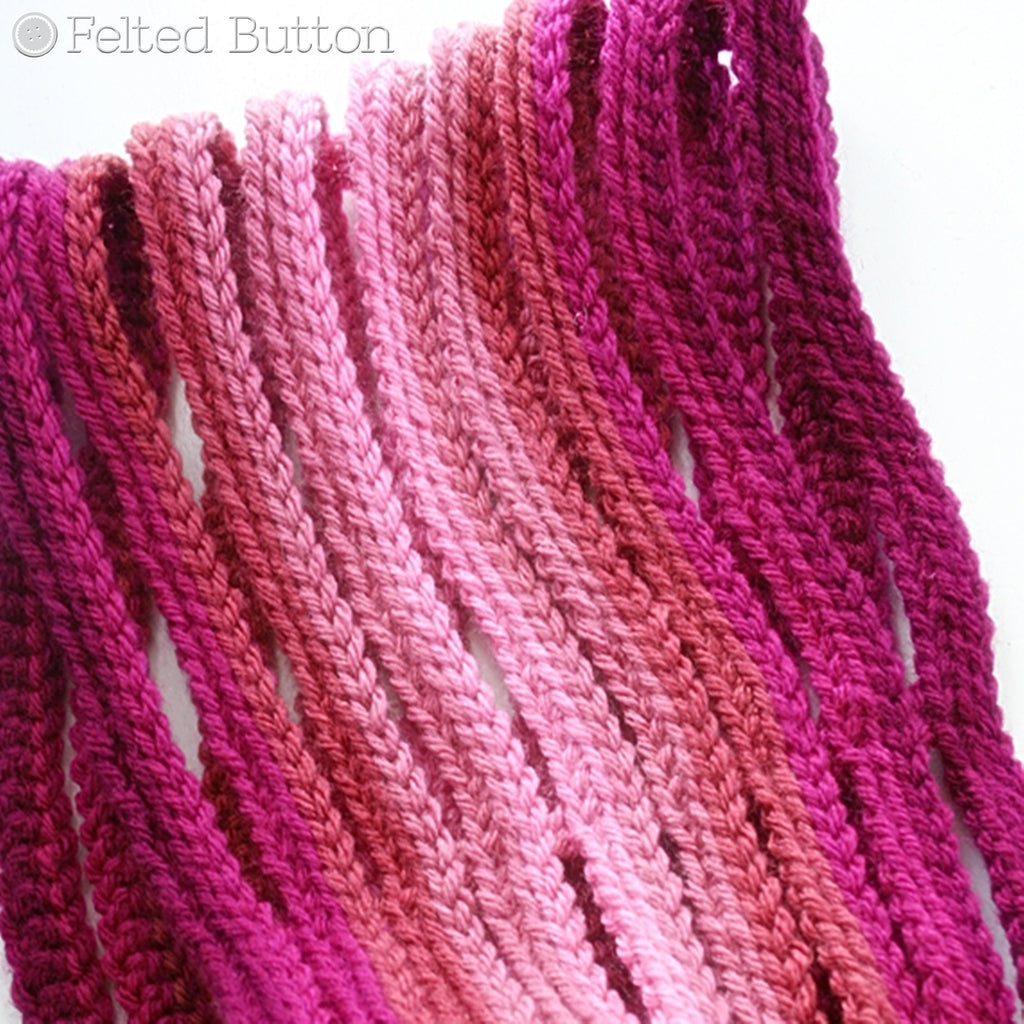 Ombre String Cowl | Crochet Pattern | Felted Button