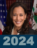Kamala 2024 Photo Poster-Style Bumper Sticker OR Bumper Magnet