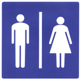 Unisex Restroom Sticker OR Magnet