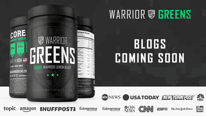 Why Warrior Greens!?