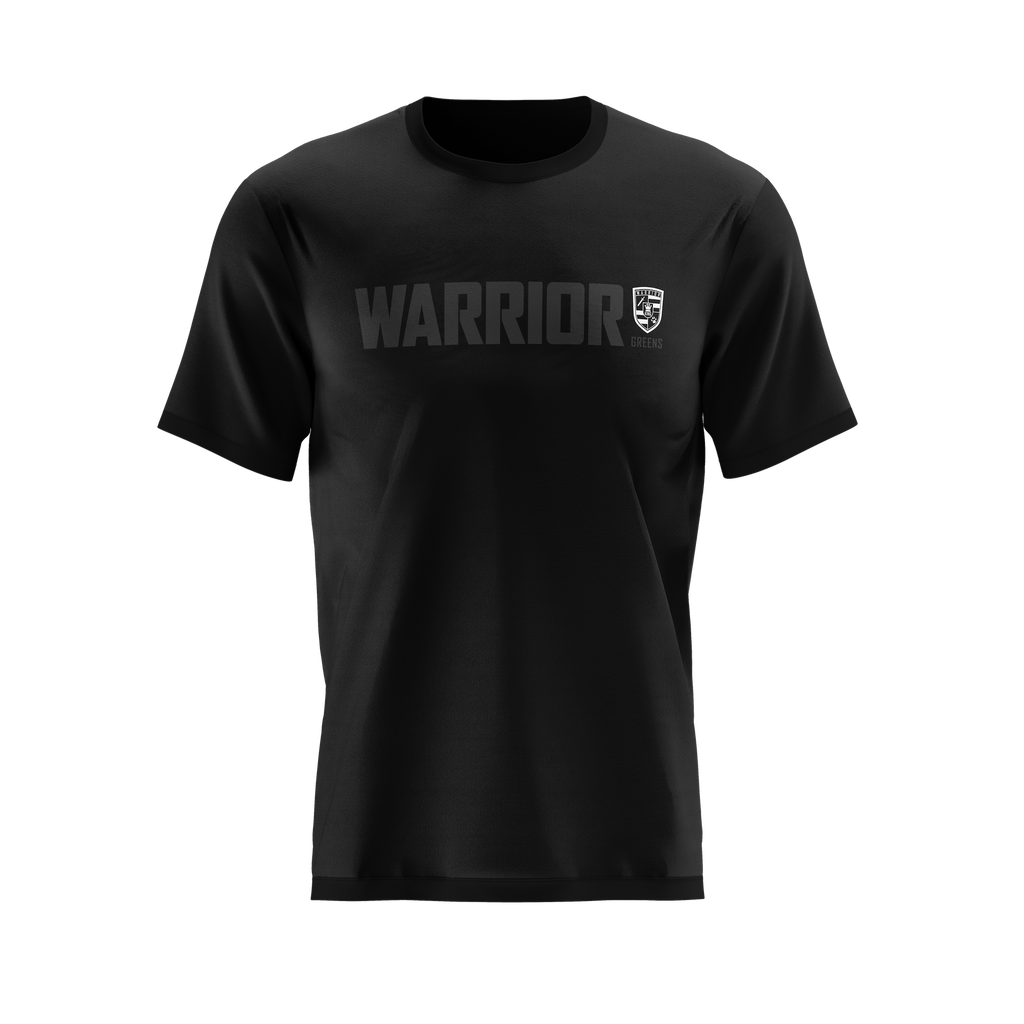 Warrior Performance Tee - Blackout