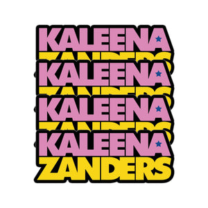 """Kaleena Logo Sticker Pack"""