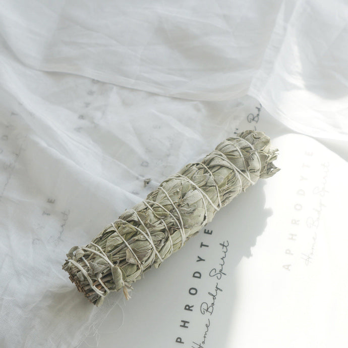 Californian white sage smudge stick