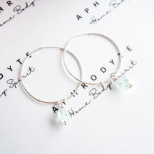 Load image into Gallery viewer, Crystal Hoop Earrings - Aphrodyte
