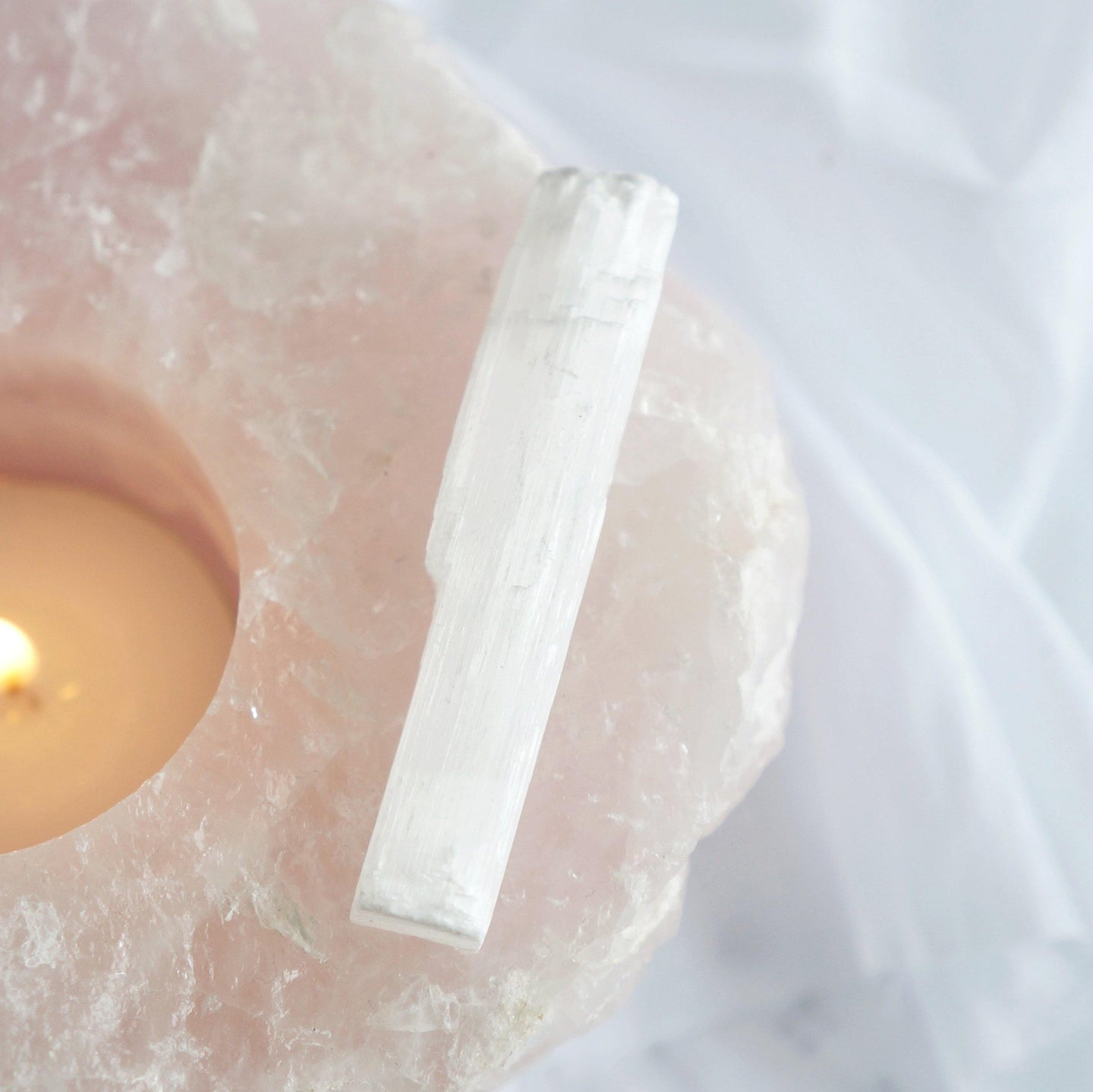 Selenite Stick - Aphrodyte