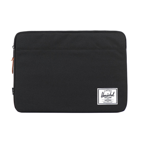 Anchor MacBook Sleeve sort, 12""