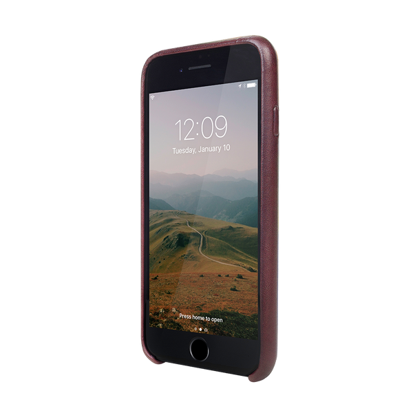 Relaxed Leather iPhone 7 case, sand