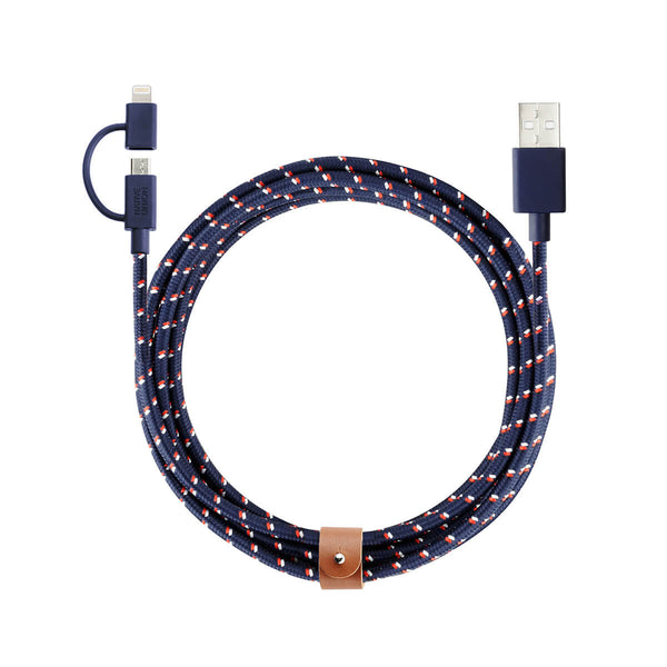 Belt Cable TwinHead 2 m, nautical