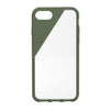 CLIC Crystal iPhone 7 & 7 Plus case, olive