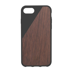 CLIC Wooden iPhone 7 & 7 Plus case, sort