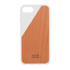 CLIC Wooden iPhone 7 case, hvid