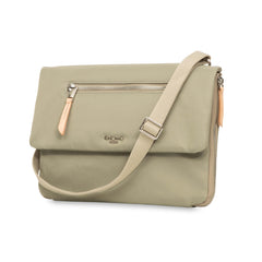 Elektronista Clutch med batteri, Nylon Olive