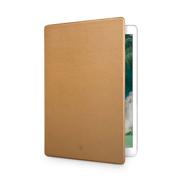 SurfacePad for iPad Pro 12.9 - Luxury leather case, camel