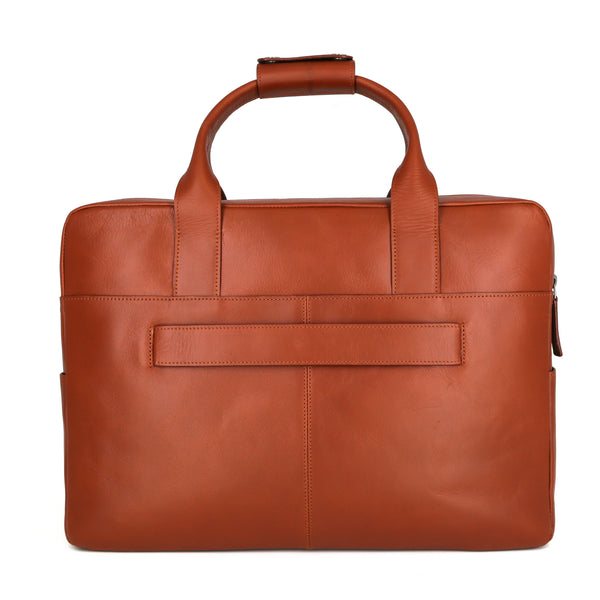 Hunters Day Bag Single, cognac
