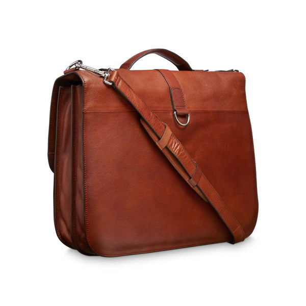 Lucha briefcase, Medium brown