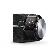 Apple Watch dock - marble edition, sort