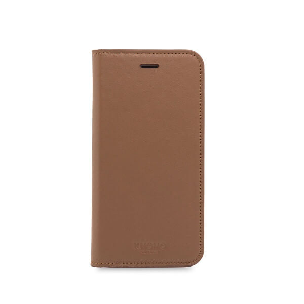 Premium Folio til iPhone 7, cognac