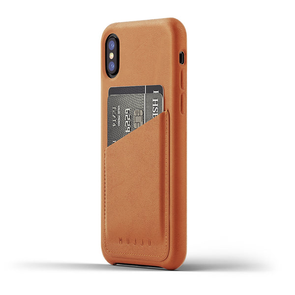 Leather Wallet Case iPhone X & Xs